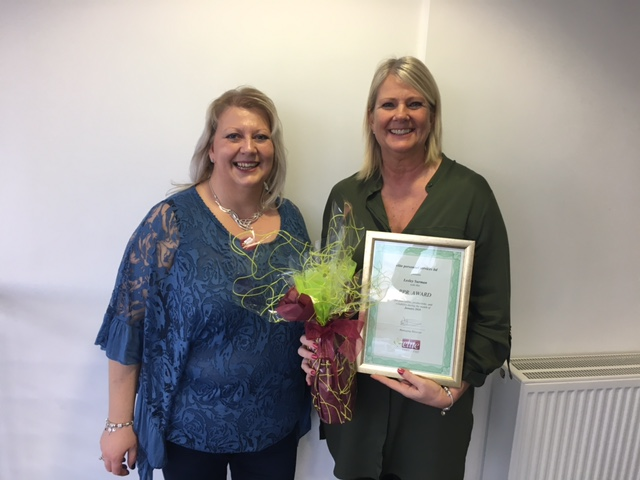 January 2018 PPR Award Winner – Lesley Surman