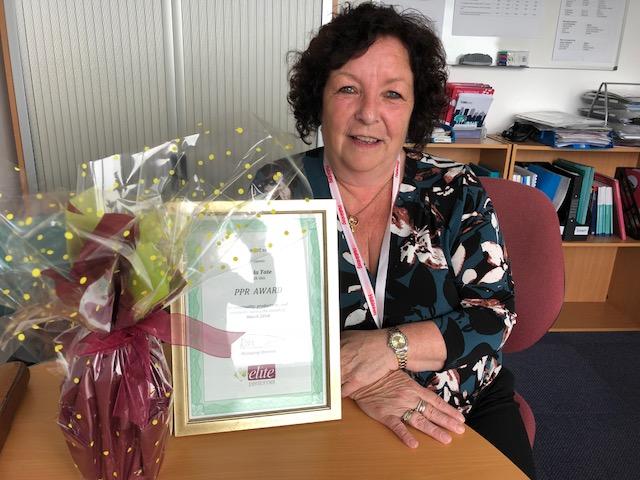 March PPR Award Winner – Nuala Tate