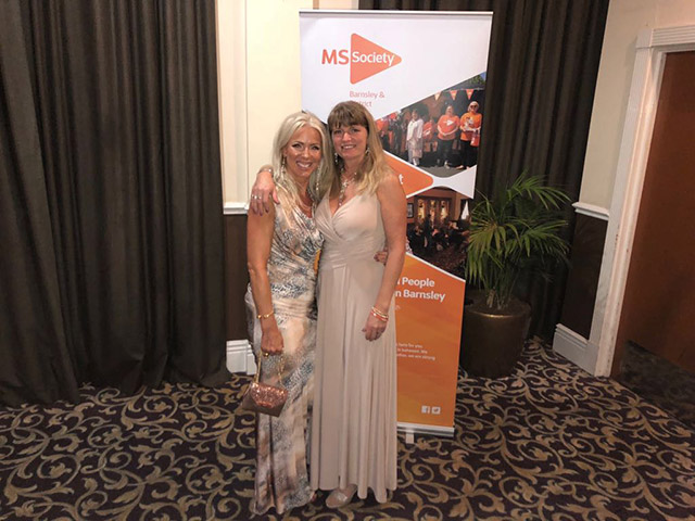 Proudly supporting MS Society at their End of Summer Ball